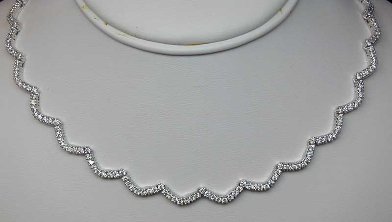 necklace silver sea by seasons scallop